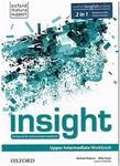 Oxford Jayne Wildman. Fiona Beddall Insight. Upper-Intermediate. Zeszyt ćwiczeń z Online Practice