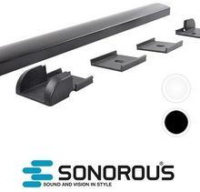 Sonorous Listwa maskująca do kabli CC100 Sonorous 100cm : Kolor - Czarny