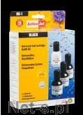 ActiveJet UK-1 czarny uniwersalny system uzupełnień 3x30 ml płyn do czyszczenia głowicy 1x30ml