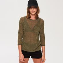 Sinsay Sinsay - Lekki sweter - Zielony