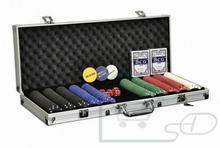 Producent Poker żetony 500 sztuk Zestaw do pokera w walizce FP32506