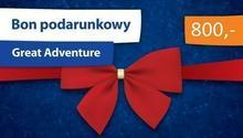 Bon podarunkowy dla żądnych przygód Great Adventure 800 zł