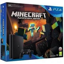 Sony PlayStation 4 Slim 500GB Czarny + Minecraft