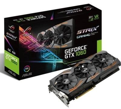 Asus GeForce GTX 1060 ROG Strix VR Ready (90YV09Q1-M0NA00 )