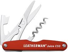 Leatherman Multitool Juice CS3 Cinnabar Orange 832369) 832369