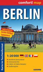 Berlin. Plan miasta 1:20 000