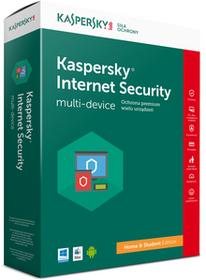 Kaspersky Internet Security multi-device Home & Student BOX 1 Desktop licencja na rok