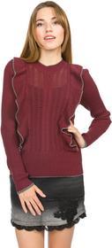 Vero Moda Mendota Sweater Czerwony XS (190145)
