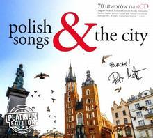 Różni wykonawcy Polish Songs & The City, 4 CD Różni wykonawcy
