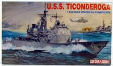 Dragon Lotniskowiec U.S.S. Ticonderoga 7018