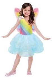 AMSCAN Kostium dziecięcy Barbie sukienka tutu 5-7 lat GXP-622077