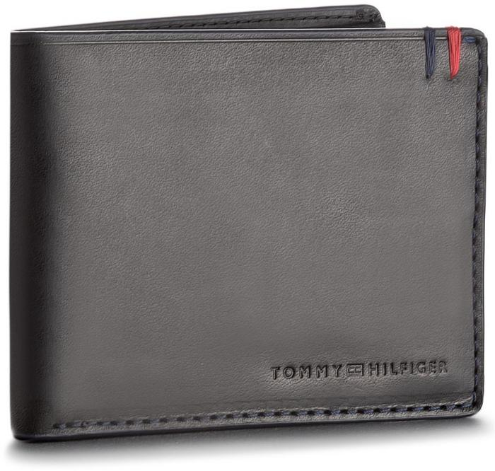 d3823221a6c45 Tommy Hilfiger Duży Portfel Męski Burnished Mini Cc Wallet AM0AM03059 002 –  ceny