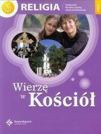 Księgarnia św. Wojciecha - edukacja Wierzę w Kościół Religia 6 Podręcznik - Święty Wojciech