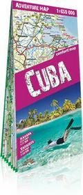 ExpressMap praca zbiorowa adventure map Kuba (Cuba). Laminowana mapa samochodowo-turystyczna 1:650 000