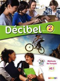 DIDIER Décibel 2 niv.A2.1-Podręcznik+CD+DVD - Butzbach M., Martin C., Pastor D., Saracibar I.