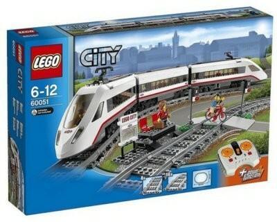 LEGO City Superszybki pociąg pasazerski 60051