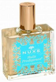 Nuxe prodigieuse huile suchy olejek o wielu zastosowaniach 100 ml TURKUSOWY edycja limitowana + My Beauty Kit Krem Prodigieuse 15 ml + Nuxellence 15 ml + olejek pod prysznic 100 ml GRATIS !