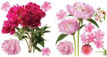 Naklejka samoprzylepna Kwiat I 40 x 30 cm 2 szt. 10003