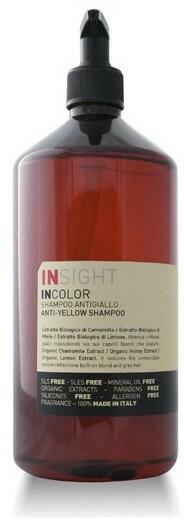 Insight ANTI-YELLOW SHAMPOO Szampon Niwelujący Żółte Refleksy 500ml INS-2997