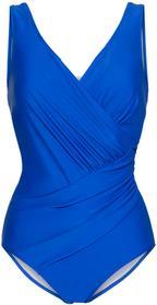 Bonprix Kostium kąpielowy modelujący sylwetkę błękit królewski