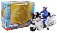 pojazd zabawkowy POLICYJNY MOTOCYKL