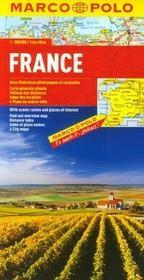 Francja mapa drogowa 1:800 000 - MARCO POLO