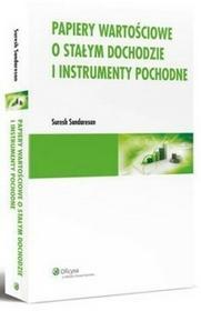Papiery wartościowe o stałym dochodzie i instrumenty pochodne Sundaresan Suresh