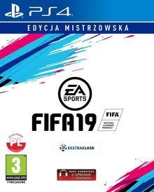 FIFA 19 Edycja Mistrzowska PS4