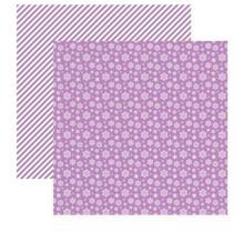Papier 30x30cm Elegantly Festive-Snowflakes Lustro