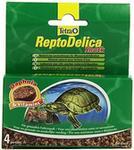 Tetra reptod Elica Snack żółwi (naturalne kąsek dla wody, z torbą daphnia rozwielitkach witamin i), 4 pojedynczych (12 G)