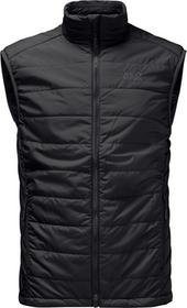 Jack Wolfskin Kamizelka GLEN VEST MEN black