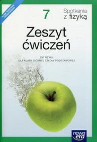 Piotrowski Bartłomiej Spotkania z fizyką 7 Zeszyt ćwiczeń / wysyłka w 24h