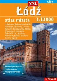 Demart Łódź plus 15 XXL atlas miasta - Demart