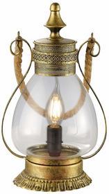 Trio Leuchten lampa wisząca Linda, stary mosiądz