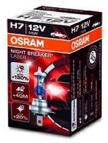 OSRAM H7 12V 55W PX26d NIGHT BREAKER LASER