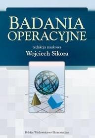 Polskie Wydawnictwo Ekonomiczne Badania operacyjne - Wojciech Sikora