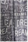 Zasłona Dream 145 cm szara