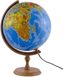 Zachem Globus fizyczny podświetlany 32cm Zachem