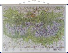 Tatry polskie i słowackie mapa ścienna 1:35 000 EkoGraf