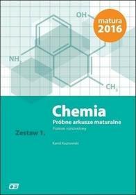 Chemia Próbne arkusze maturalne Zestaw 1 Poziom rozszerzony - Kaznowski Kamil