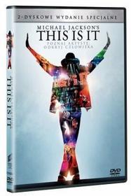 Michael Jacksons This is it 2DVD białe) DVD) Kenny Ortega
