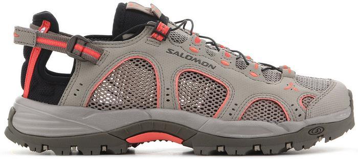Sandały Salomon Techamphibian 3 W 393462 Sandały męskie brązowe w Spartoo