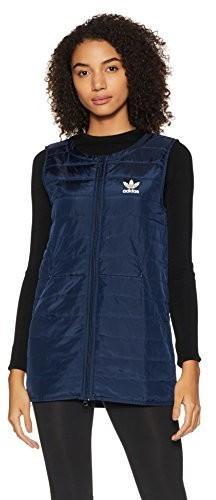 25a4ea004 Adidas Damska kamizelka Originals BG Padded Long kamizelka, kolor: niebieski,  rozmiar: 34