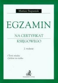 Egzamin na certyfikat księgowego - Mariusz Stepaniuk