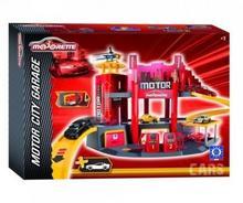 Majorette Motor City Garaż z autkiem 2058211