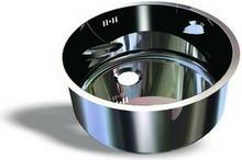 XXLselect Zlew okrągły nakładany do przykręcania | kwasoodporny | 1,1 mm | różne wymiary FKZ-VRI30