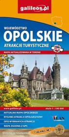 Województwo opolskie. Atrakcje turystyczne. Mapa 1: 190 000