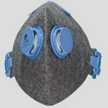 CityMask CityMask - Maska (maseczka) antysmogowa higieniczna szara 2V N (przeciwsmogowa)