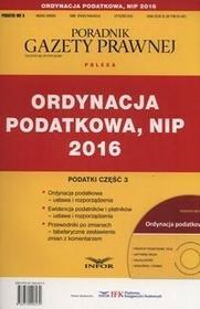 Ordynacja podatkowa, NIP 2016 - Infor