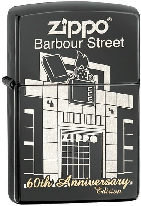 Zippo Zippo, Zapalniczka, Barbour Street Building, Ebony